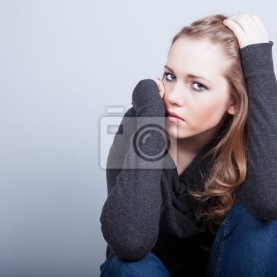 Depresivní žena
