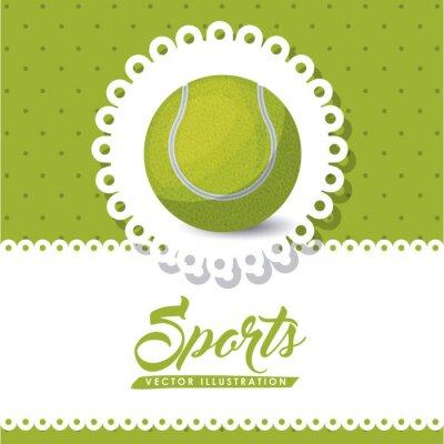 Obraz Design tenisová liga