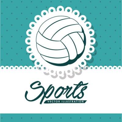 Obraz Design volejbalové ligy