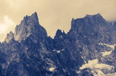 Obraz Dešťové Alp Hory