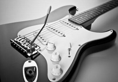 Obraz Detail elektrické kytary