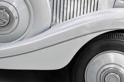 Obraz Detail staré karoserie vozu