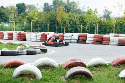 Obraz Děti karting