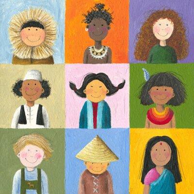 Obraz děti na světě