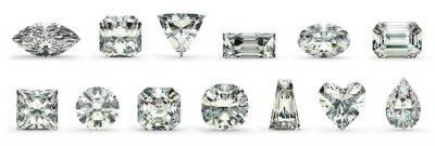 Obraz Diamond Cuts