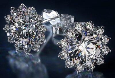 Obraz Diamond Náušnice