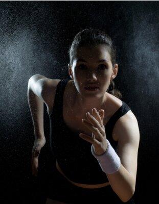 Obraz dívka ve sportu