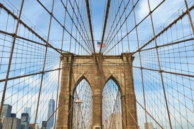 Obraz Dolní Manhattan Skyline pohled z Brooklynu