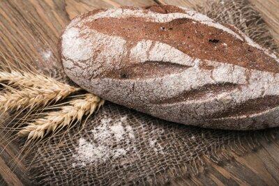 Obraz Domácí chléb, close-up