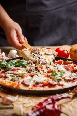 Obraz Domácí pizza