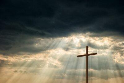 Obraz Dřevěný kříž