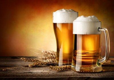 Obraz Dva hrnky piva