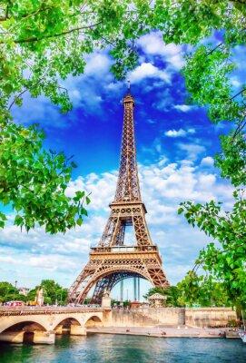 Obraz Eiffelova věž