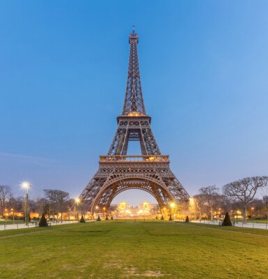 Obraz Eiffelova věž Sunrise