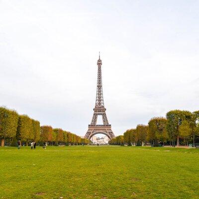 Obraz Eiffelova věž v Paříži, Francie