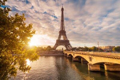Obraz Eiffelturm v Paříži