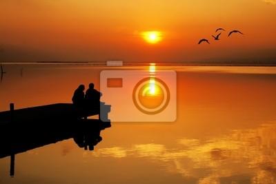 Obraz El amor y el sol