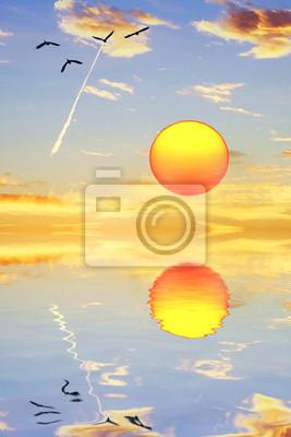 Obraz el sol sobě mira en el Espejo