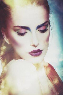 Obraz fantasy krása ženy