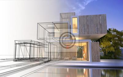 Obraz Fáze projektu architektury
