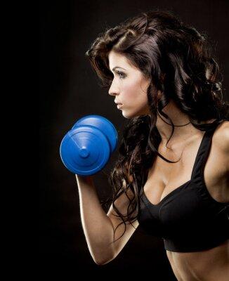 Obraz fitness žena