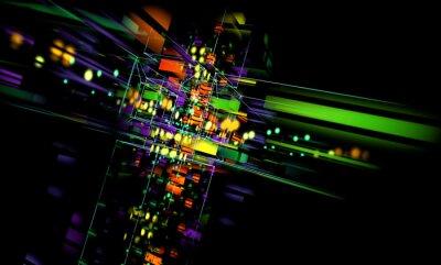 Obraz Fondo Tecnologico abstracto.