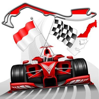 Obraz Formule 1 VC Monaka