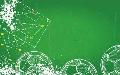 Obraz Fotbal / Fotbal šablony návrhu, bez copy space, vector