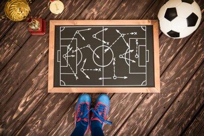 Obraz Fotbal strategie