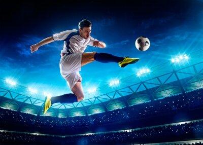 Obraz Fotbalista v akci
