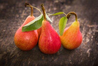 Obraz Fresh organic pears