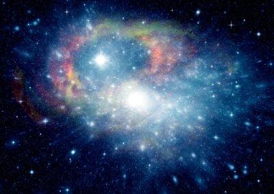 Obraz galaxie ve volném prostoru
