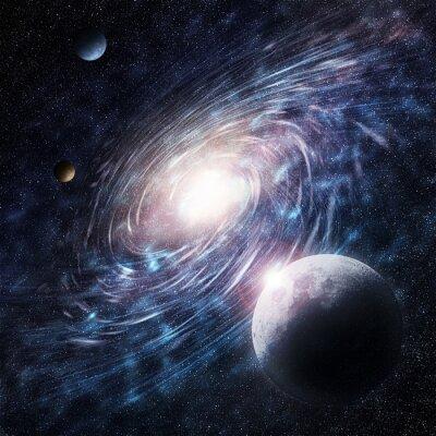 Obraz Galaxy blue Creative