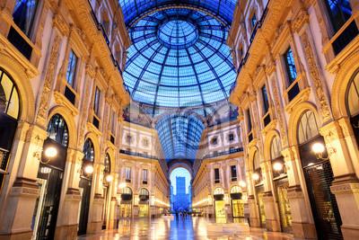 Galleria Vittorio Emanuele II, Milan, Itálie