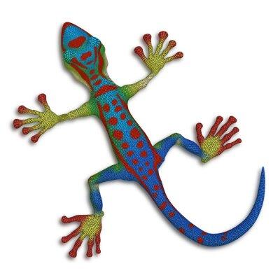Obraz Gecko ještěrka