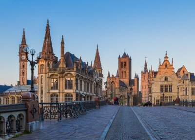 Gent cityscape - Belgium