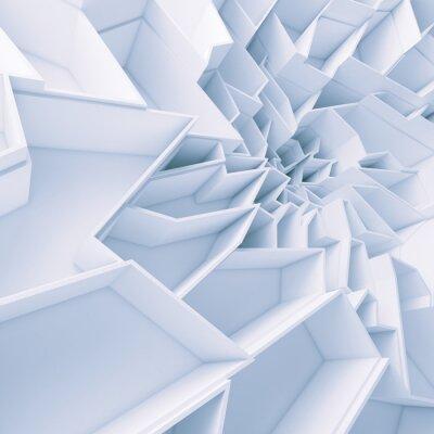 Obraz Geometrické barevné abstraktní polygony tapety