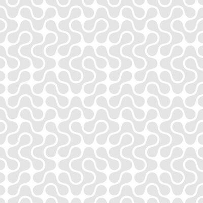 Obraz Geometrické bezešvé vzor. Vektorové ilustrace