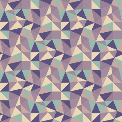 Obraz Geometrické trojúhelníky pozadí. Mosaic.