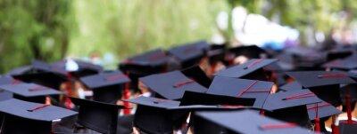 Obraz Graduates Receive A Certificate At The University