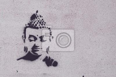 Obraz Graffiti Bouddha