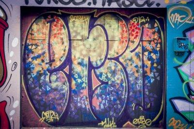 Obraz Graffiti Couleurs pétantes