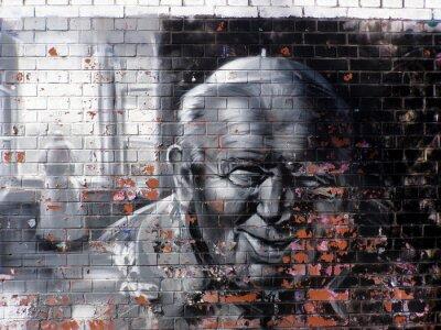 Obraz graffiti náboženství