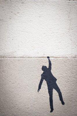 Obraz Graffiti personnage