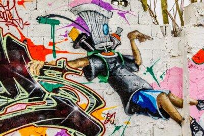 Obraz Graffiti street art