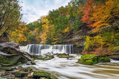 Obraz Great Falls s Velkou barev