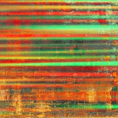 Obraz Grunge barevné pozadí. S různými barevnými vzory: žlutá (béžový); červená (oranžová); zelená; černý