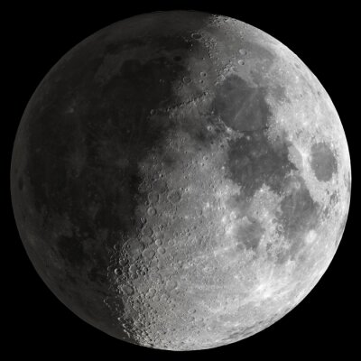 Obraz Half Moon s ostrými detaily.