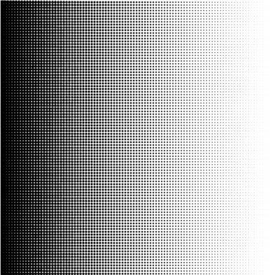 Obraz Halftone dots gradient in format vector
