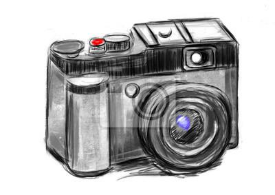 hand draw camera